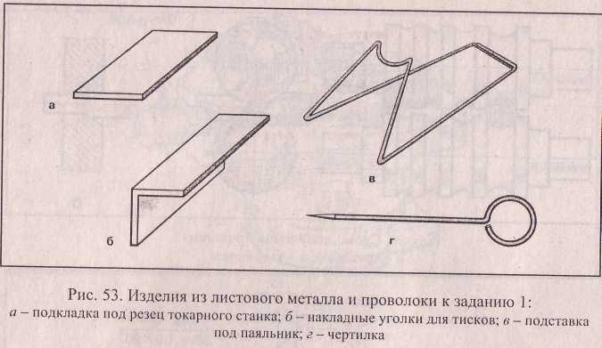 Изделия из листового металла и